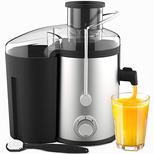 Licuadoras Para Verduras y Frutas 600W con 2 velocidades Extractor de Jugos Libre de BPA ELEHOT
