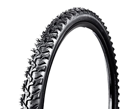 LDFANG Cubiertas MTB 24x1.95 26x1.95 26x2.1,NeumáTicos para Bicicleta,Unisex Adulto, Negro,26 * 1.95