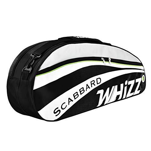 Whizz Badminton Squash Tennis Schlägertasche Hülle Racquet Bag - Schwarz
