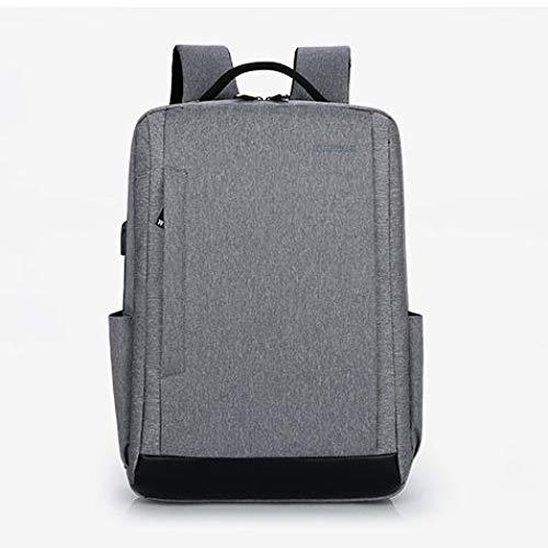 MNBVCX Laptoptasche Herren Business Tasche Computertasche Reiserucksack Hellgrau A 43X10X31Cm