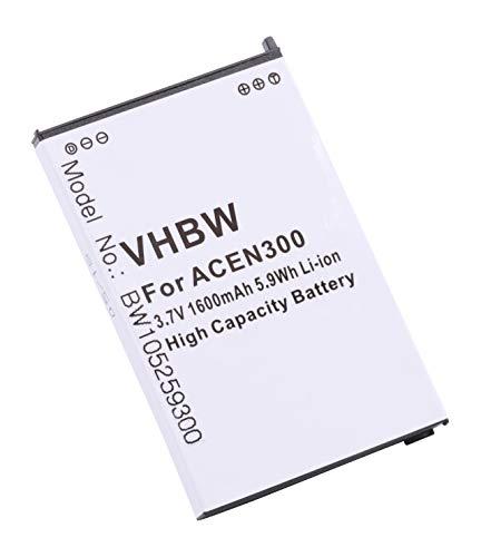 Batería LI-Ion 1400mAh Compatible con Acer C500 / C510 / C530 / N300 / N310 / N311 / N321