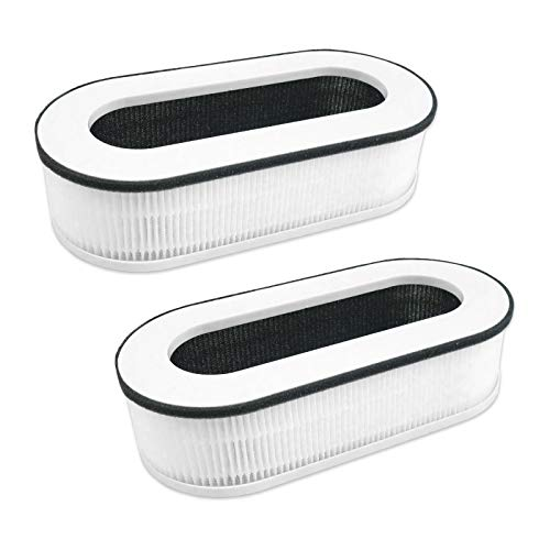 Flintar RP-AP068 3-in-1 True HEPA Replacement Filter, Compatible with RENPHO Compact Air Purifier RP-A068, 2-Pack