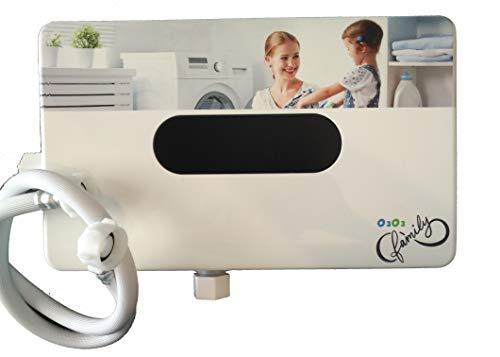 Generador de Ozono para Lavadora con dos niveles de ozono, Ozonizador automático para lavadora. Lava con agua fría y Retira suciedad, Grasa, Unto y olores