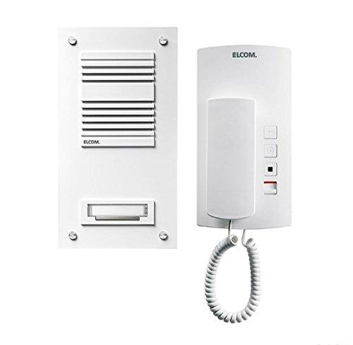 Elcom Haustelefon HAT-402 ws Innenstation für Türkommunikation 4250111821032