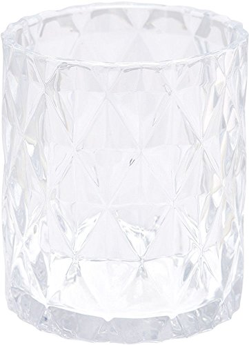 GreenGate Glas - Glass Hurricane - Amanda Clear H 15 cm