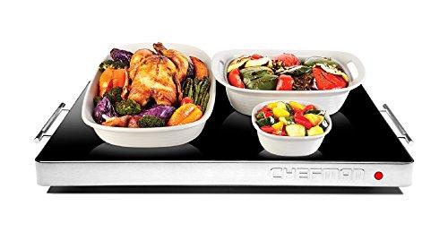 Chefman Electric Warming Tray with Adjustable Temperature Control,...