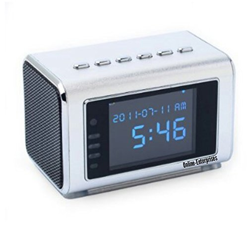 TOP Secret Spy Camera /Mini Clock Radio Hidden DVR- #1 Amazon seller in USA. 4.8 stars from 33 reviews! NOW AVAILABLE to SHIP to UK