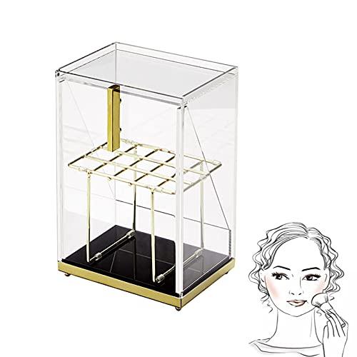 Caja De Almacenamiento De Cosméticos A Prueba De Polvo De Gran Capacidad, Estante De Acrílico para Productos para El Cuidado De La Piel,Makeup Brush Storage Box
