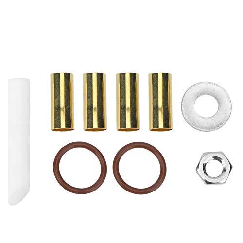 Taquillas de balancín de brazo Aukson, 9 piezas, taquillas de balancín de metal, accesorio de kit de inserción de eje de extremo de leva doble