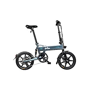"Electric Bikes Folding Ebike FIIDO D2S 16"" Electric Bike 250W Aluminum Electric Bicycle with Pedal for Adults and Teens, or Sports…"