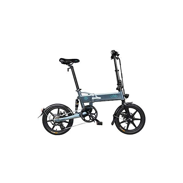 "Electric Bikes Folding Ebike FIIDO D2S 16"" Electric Bike 250W Aluminum Electric Bicycle with Pedal for Adults and Teens, or Sports Outdoor Cycling Travel Commuting, Shock Absorption Mechanism [tag]"