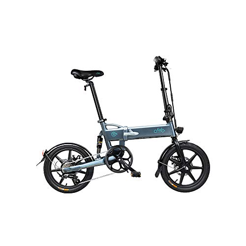 WoRamy FIIDO D2S Electric Bike,Folding Electric Bike for Adults,Commute Ebike with 250W Motor and 6 Speeds Shift Electric,City Bicycle Max Speed 25 km/h,EXCLUDING BRITISH ADAPTER