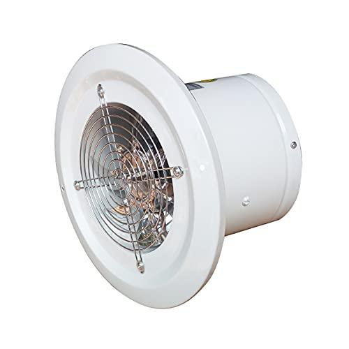 garage exhaust fan Metal Kitchen Exhaust Fan Powerful Industrial Commercial Exhaust Fan 8' Silent Household Ventilation Fan for Bathroom, 60W, 290CFM, 40dB ventilation fan ( Specification : 8 inch )