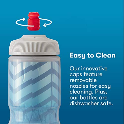 Polar Bottle Sport Insulated Water Bottle 2-Pack - BPA-Free, Sport & Bike Squeeze Bottle with Handle
