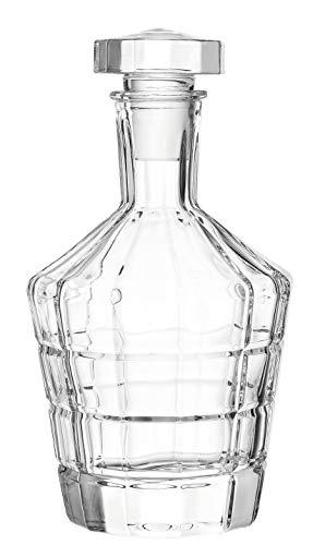 Leonardo 022761 Spiritii Pichet avec bouchon en verre Transparent 750 ml Hauteur 23 cm