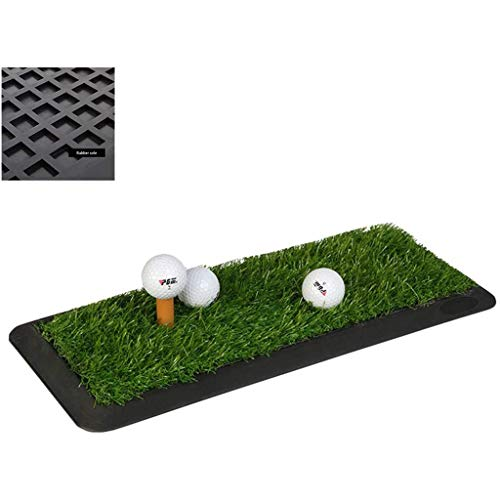 Read About Qazxsw Golf Practice Mat/Indoor and Outdoor Golf Practice Rubber Mat/Personal Practice Ma...