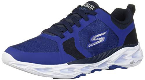 Skechers Men's GO Run Vortex - 54839 Shoe, Blue/Navy, 8.5 M US