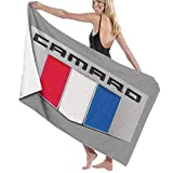 Ewtretr Toallas de baño Camaro Performance Car Baby Large Soft Bed Toalla de Playa...