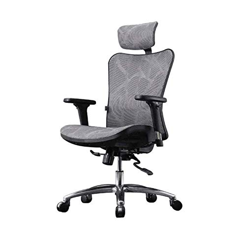 HAOSHUAI Mesh Home Engineering Gaming Seat Lift Stuhl Bürostuhl Aluminiumlegierung Fuß Rotieren