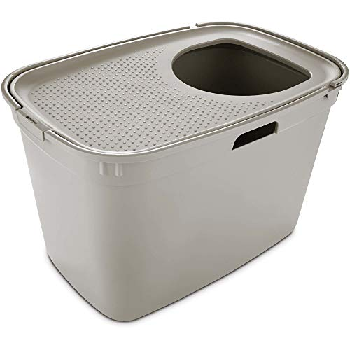 So Phresh Top-Entry Litter Box, 23.23' L x 15.5' W x 15.13' H, 15.13 in