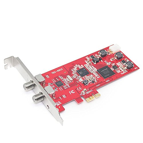 TBS 6903 DVB-S2 Doppel-Tuner, Profi PCIe Satelliten-TV-Karte