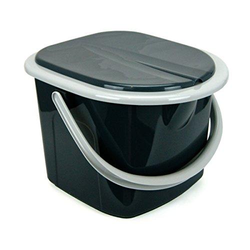 Toileltte schwarz 15,5 Liter