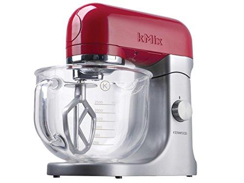 Kenwood KMX51 500W 4.6L Metálico, Rojo - Robot de cocina (4,6 L, Metálico, Rojo, 1 año(s),...