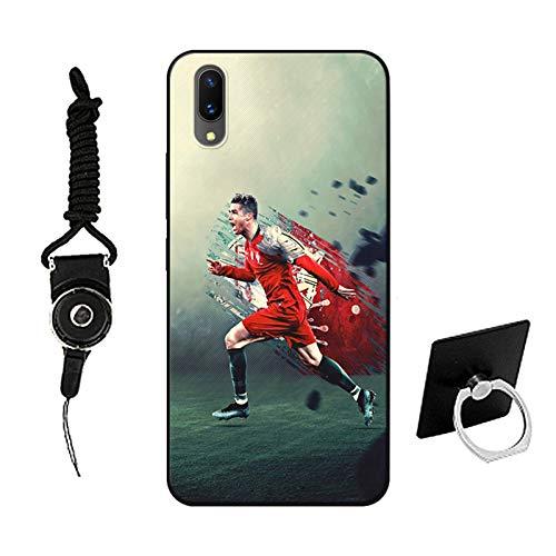 QGGESY Estuche Ultrafino Anti-caída para teléfono móvil/Cubierta Protectora (Leo Messi),Adecuada para la Serie iPhone12 Mini,iphone12/12pro,iphone12 Pro MAX,color9,iPhone12 Mini