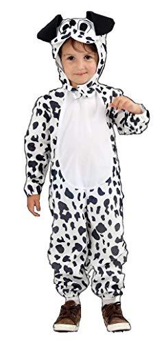 Chien dalmatien enfant en bas âge Fancy Dress Costume 2-3 ans [Jouet]