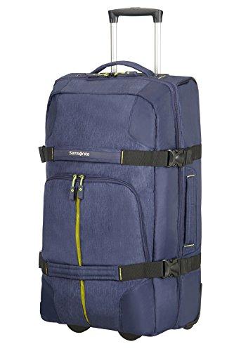 Samsonite Rewind 68/25 Bolsa de Viaje con Ruedas, 68 cm, 72,5 L, Color Azul (Dark Blue)