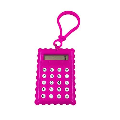 FISH4 1 stück Studententasche Student Handheld Mini Elektronische Keksform Schule Bürobedarf Candy Farbe, Rosa