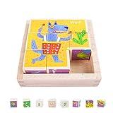 EKKONG Puzzles de Madera for Kids ,Animales Rompecabezas ,Juguetes Bebes, Jigsaw Wooden Puzzles Toy, Juguetes Montessori Puzzles,Juguetes niños 1 año 2 3 4 5 6 años , Best Birthday&Navidad Present