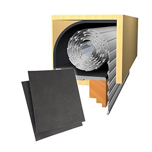 jarolift Energiespar Rollladendämmung 25mm (100 x 50cm) inkl. Deckeldämmung100 x 24cm + Seitenteildämmung