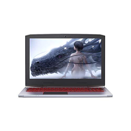 Godyluck - Ordenador portátil Corei7 de 15.6in GTX1060 Gaming Notebook 1920 x 1080 HD Dual Ventilador 8G DDR4 4000 mAh batería RGB de retroiluminación