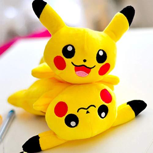 grande capacit/é gar/çon pour l/école Trousse /à crayons th/ème Pok/émon Pikachu le coll/ège adulte 22x11x4.5cm Pikachu-1 pour fille