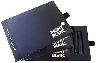 MONTBLANC モンブラン 万年筆用カートリッジインク ミッドナイトブルー 8本入 3個セット