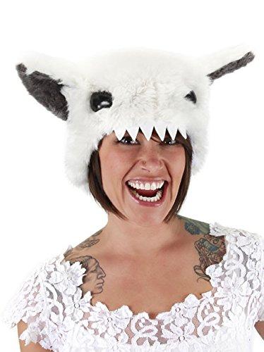 Abominable Snowman Yeti Costume Hat