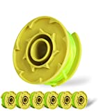 GAVAER 11ft 0.080-Inch String Trimmer Line Replacement Spool for Replacing ryobi String Trimmer line, Autofeed Spools Compatiable with Ryobi One Plus AC80RL3 18v 24v and 40v Cordless Trimmers(6 Pack)
