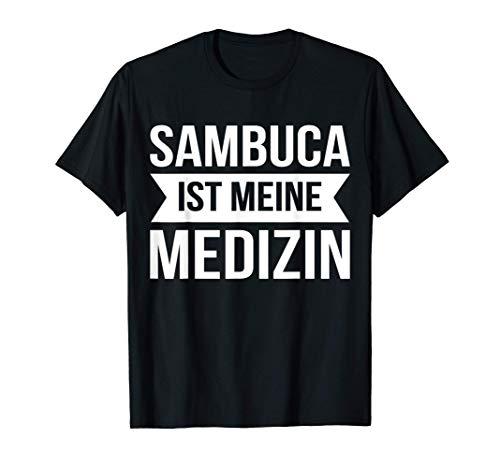 Sambuca Schnaps Trinekn Alkohol T-Shirt