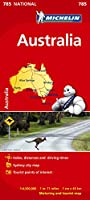 Australia - Michelin National Map 785: Map (Michelin National Maps)