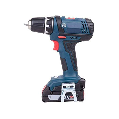 JF-XUAN Cordless Electric Drill Cordless electric drill, electric screwdriver, 18V lithium double electric drill, electric drill, industrial heavy (Color : 2 electricity, Size : 18V)