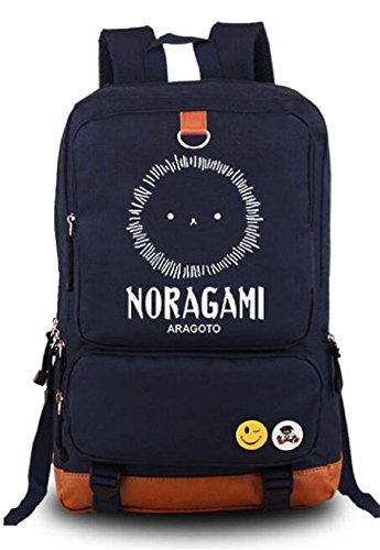 Siawasey anime Noragami Yukine Cosplay luminoso zaino borsa a tracolla scuola borsa