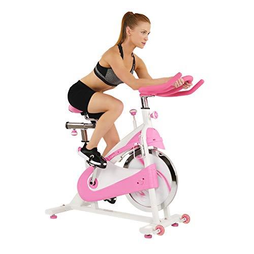 Sunny Salud y Fitness P8150cinturón Disco Premium Interior para Bicicleta de Ciclismo, Color Rosa