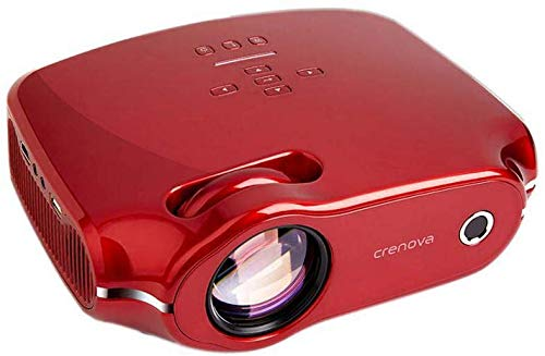 Hometrainer projector ondersteuning androïde videoprojector 3000 lumen 200 '' grote weergave-LED-projector compatibel met PS4 HDMI VGA-handel en USB voor home entertainment en PPT, wit