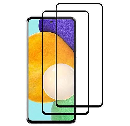 [2 Stück] Bildschirmschutzfolie für Samsung Galaxy A32 5G Full Coverage Panzerglas Folie für Galaxy A32 5G (6,5 Zoll)
