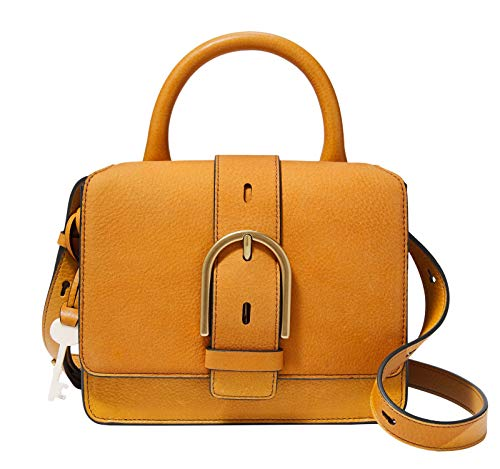 Fossil Wiley Top Handle Bag Amber Gold