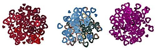 amscan - 6529 - Confettis Cœur 15 g