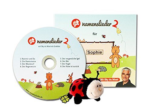 Namenslieder CD 2 mit Kuscheltier - 8 personalisierte Kinderlieder mit Deinem Namen - Erzähler: Sky du Mont - Gesang: Kathrin - Gesungen mit Deinem Wunschnamen (zur Taufe, Taufgeschenk, Geburtstagsgeschenk...) - Neue, moderne Songs im Pop/Rock