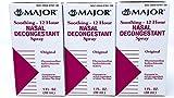 Nasal Decongestant Pump Mist Spray 12hr Oxymetazoline HCL 0.05% 30ml (3)
