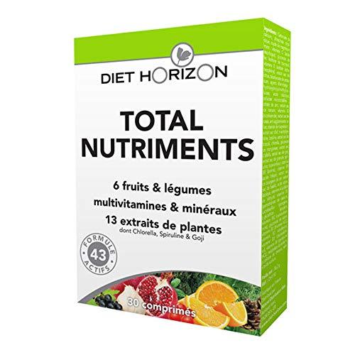 Diet Horizon - Total Nutriments 30 Comprimes